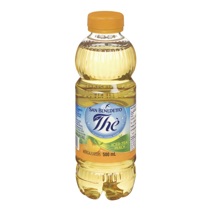 SAN BENEDETTO ICED TEA PEACH 500 ML
