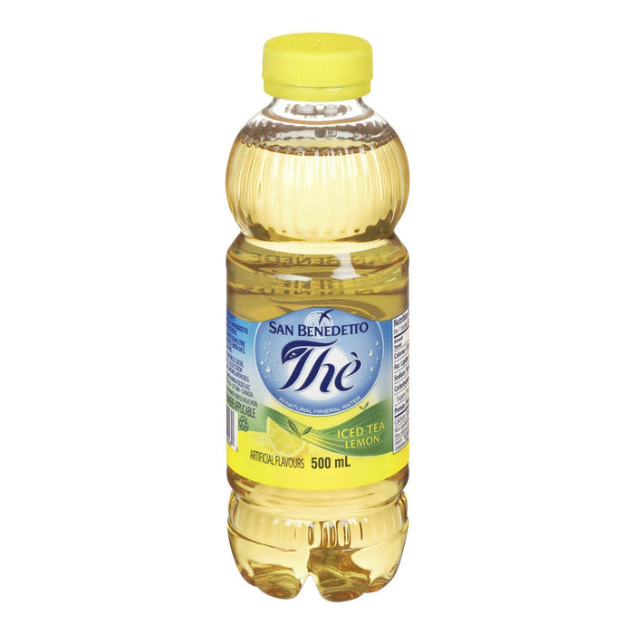 SAN BENEDETTO ICED TEA LEMON 500 ML