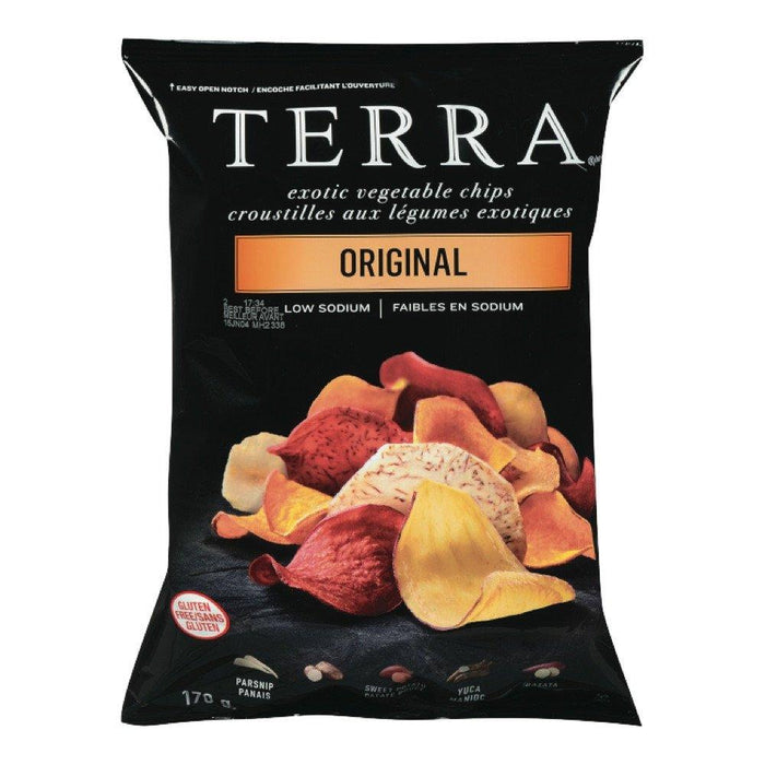 TERRA CHIPS POTATOES EXOTIC 170 G