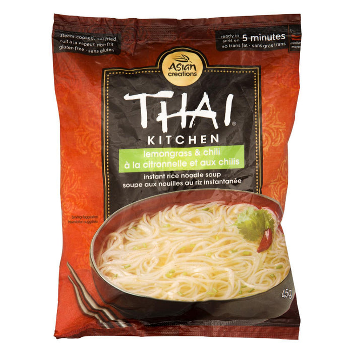 THAI KITCHEN SOUP NOODLE RICE LEMONGRASS CHILI 45 G