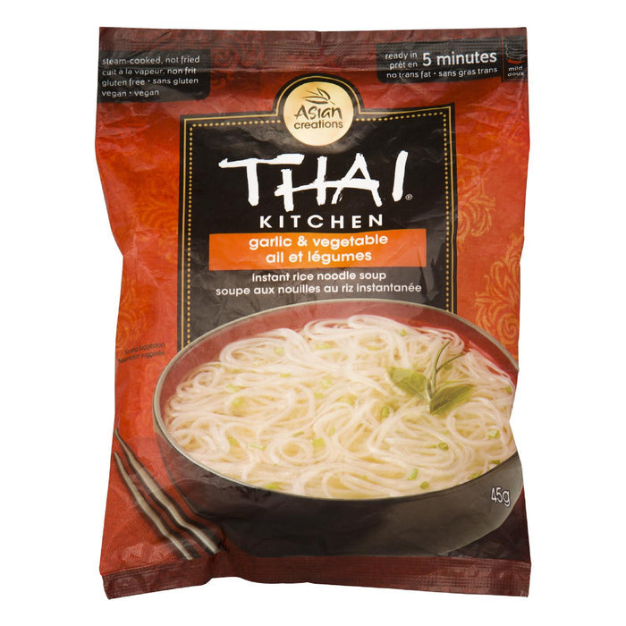 THAI KITCHEN SOUP RICE NOODLE GARLIC VEGETABLE 45 G