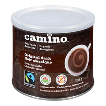 CAMINO HOT CHOCOLATE ORIGINAL DARK ORGANIC 336G