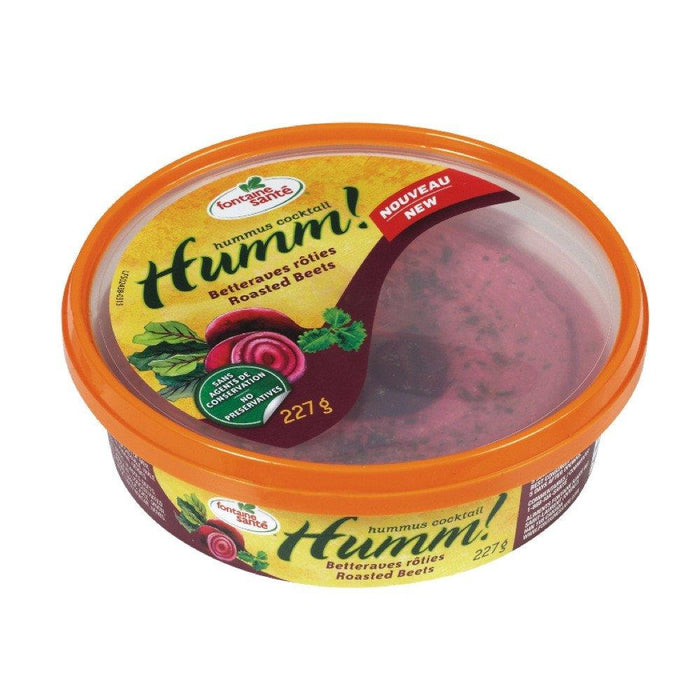 FONTAINE SANTE HUMM HUMMUS ROASTED BEETS 227 G