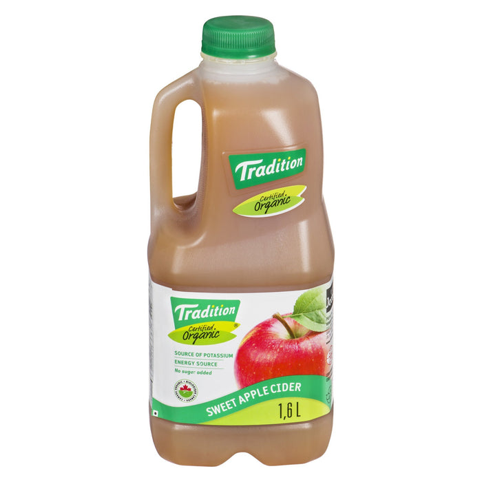 TRADITION APPLE JUICE ORGANIC 1.6L
