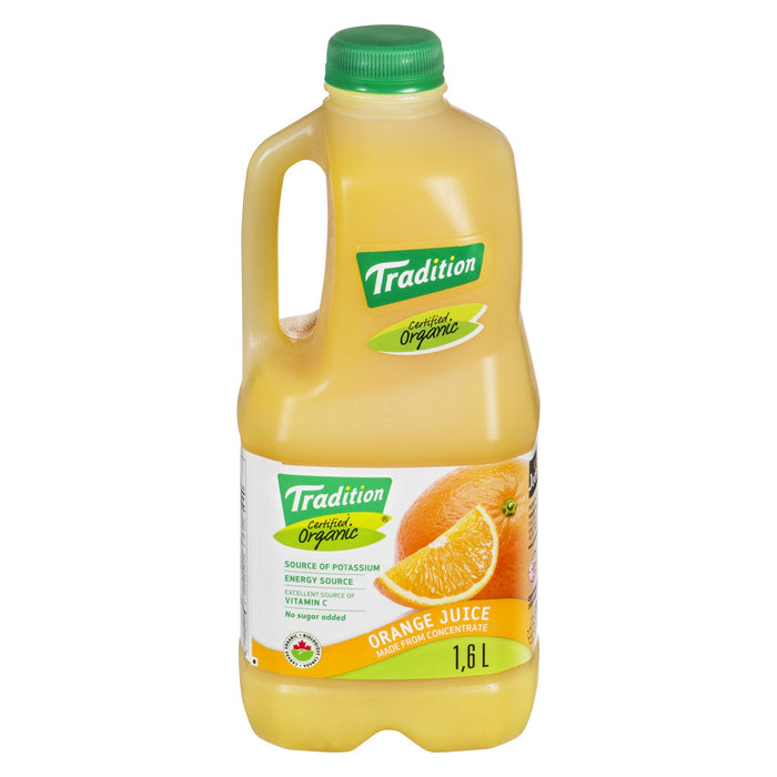 TRADITION ORANGE JUICE ORGANIC 1.6 LT