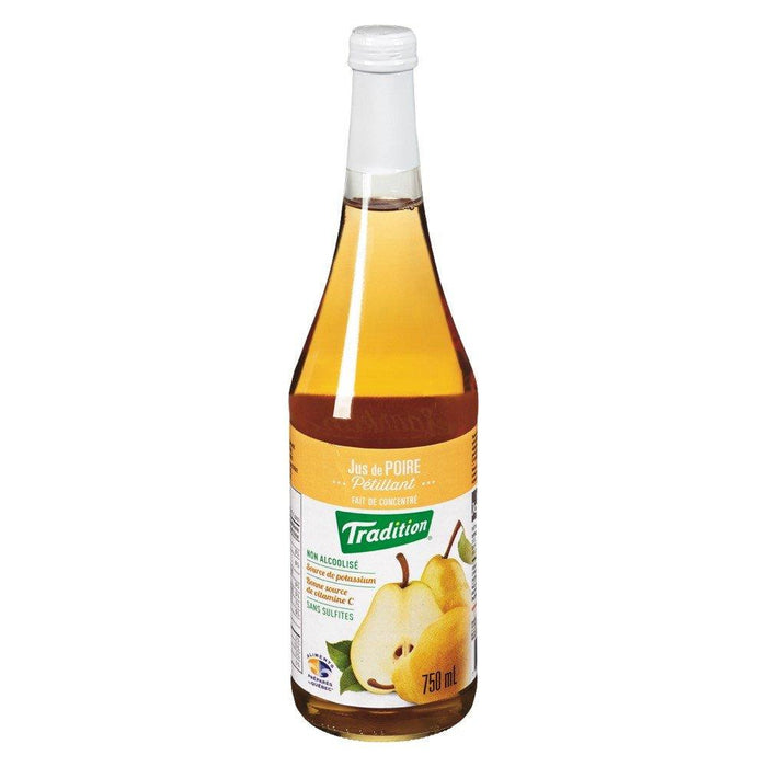 TRADITION SPARKLING PEAR JUICE 750 ML