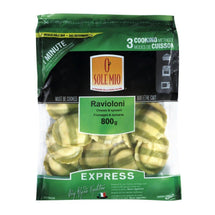 O SOLE MIO RAVIOLONI COOK THOROUGHLY CHEESE SPINACH EXPRESS 800 G