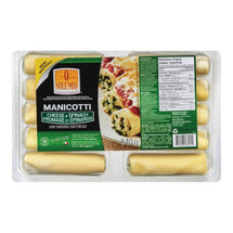 O SOLE MIO MANICOTTI CHEESE SPINACH 640 G