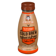 CALIFIA FARMS SALTED CARAMEL COLD BREW COFFEE WITH ALMOND BEVERAGE 295ML