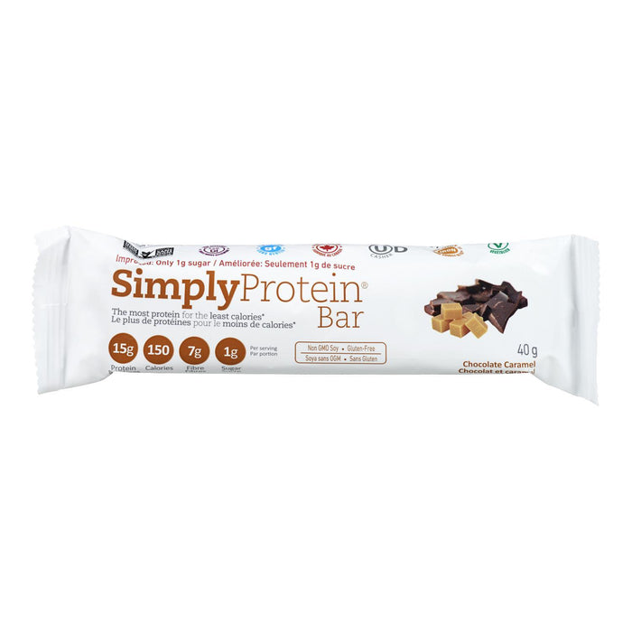 SIMPLY PROTEIN BAR CHOCOLATE CARAMEL 40 G