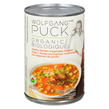 WOLFGANG PUCK HEART GARDEN VEGETABLE ORGANIC SOUP 398ML