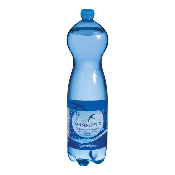 SAN BENEDETTO MINERAL CARBONATED WATER 1.5 L
