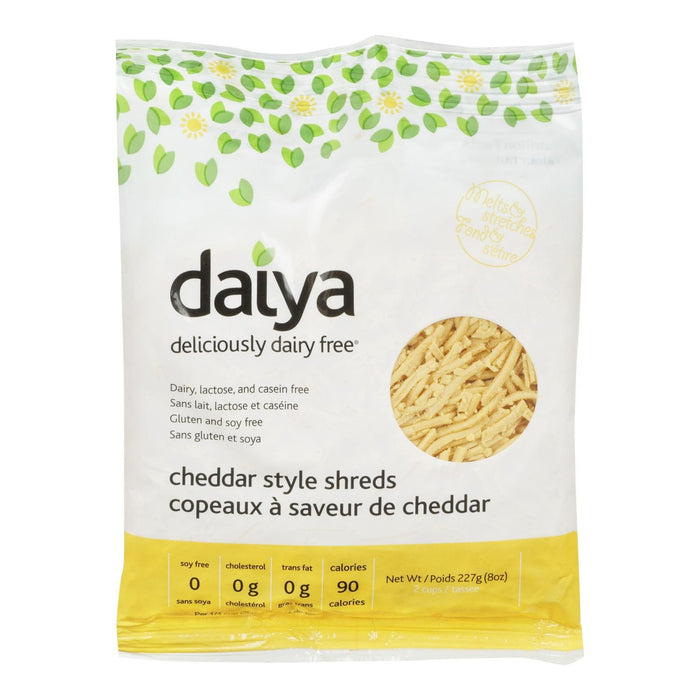 DAIYA CHEESE SHREDS CHEDDAR 227 G