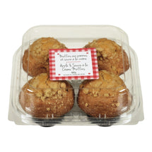 FGF APPLE AND CREAM SUGAR MUFFINS 4S 400 G