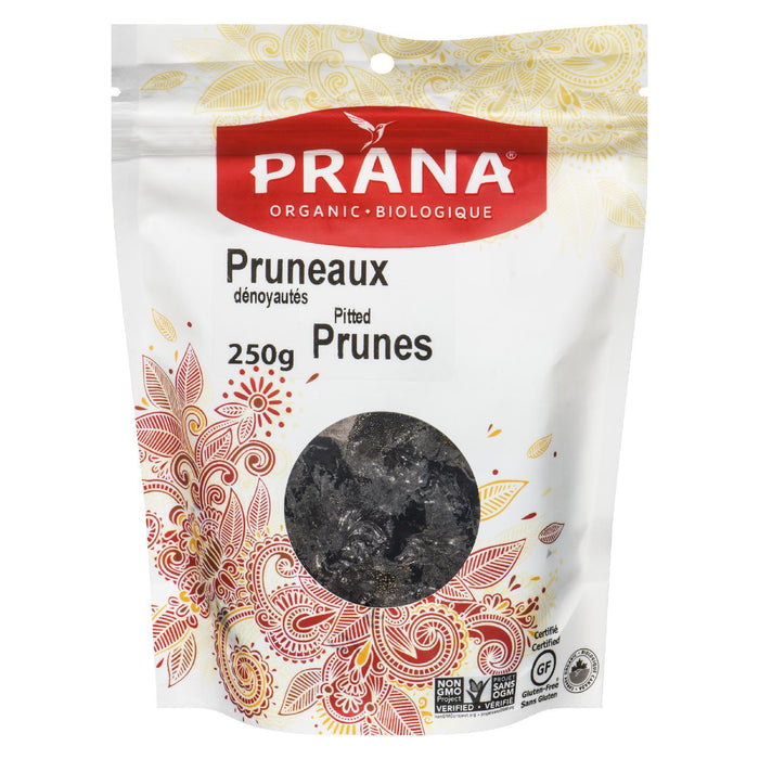 PRANA PRUNES PITTED ORGANIC 250 G