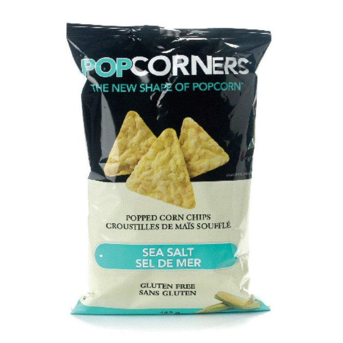 POPCORNERS CHIPS POPPED CORN SEA SALT GLUTEN FREE 142 G