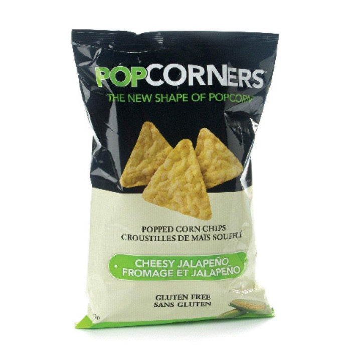 POPCORNERS CHEESE AND JALAPENO 142 G