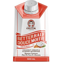 CALIFIA FARMS ORIGINAL BETTERHALF COCONUT CREAM AND ALMOND BEVERAGE FOR COFFEE 500ML