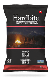 HARDBITE SMOKIN' BBQ POTATO CHIPS - 30 X 50 G