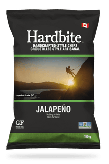 HARDBITE JALAPENO POTATO CHIPS - 30 X 50 G
