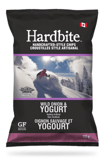HARDBITE WILD ONION AND YOGURT POTATO CHIPS - 30 X 50 G