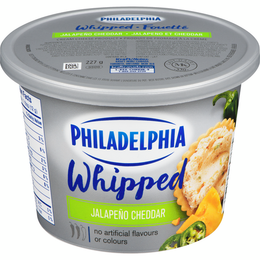 PHILADELPHIA CREAM CHEESE JALAPENO CHEDDAR 227 G
