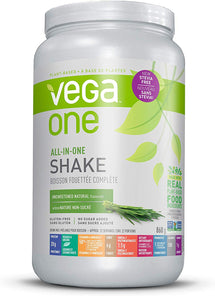 VEGA ONE ALL-IN-ONE SHAKE UNSWEETENED NATURAL, 860G