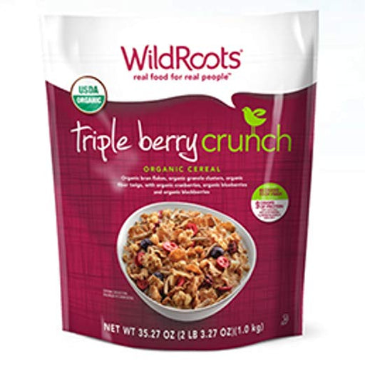 WILD ROOTS TRIPLE BERRY BLISS CEREAL, 1KG
