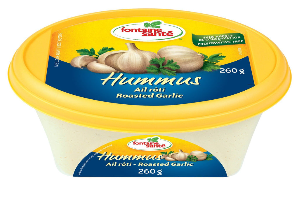 FONTAINE SANTE HUMMUS ROASTED GARLIC 260 G