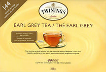 TWININGS EARL GREY TEA, PACK OF 144