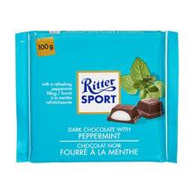 RITTER SPORT MINT DARK CHOCOLATE 100G