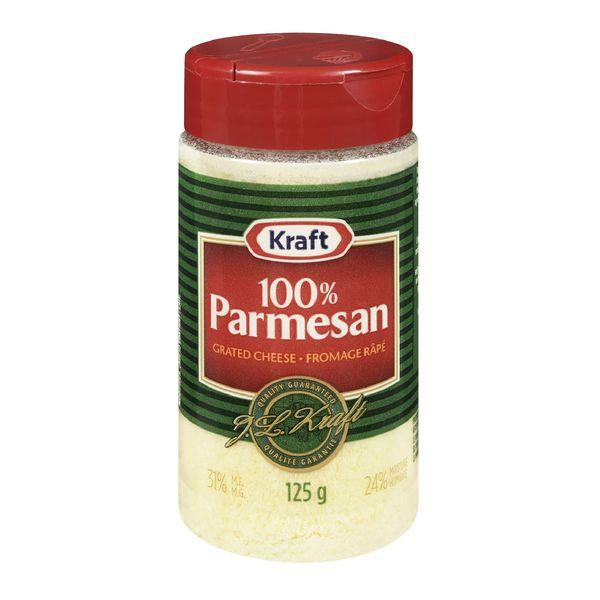 KRAFT CHEESE GRATED PARMESAN 125 G