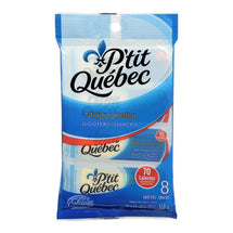P'TIT QUEBEC, MOZZARELLA CHEESE SNACKS, 8 X 21G