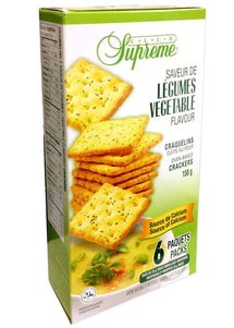 CLUB SUPREME VEGETABLE CRACKERS 150 G