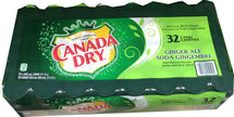 CANADA DRY GINGER ALE 32x355 ML