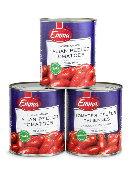 EMMA ITALIAN PEELED TOMATOES 796 ML
