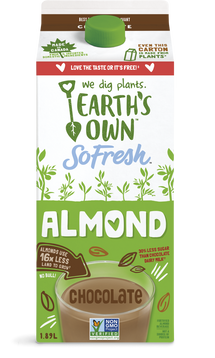 EARTH'S OWN, ALMOND FRESH CHOCOLATE BEVERAGE 1.89 L