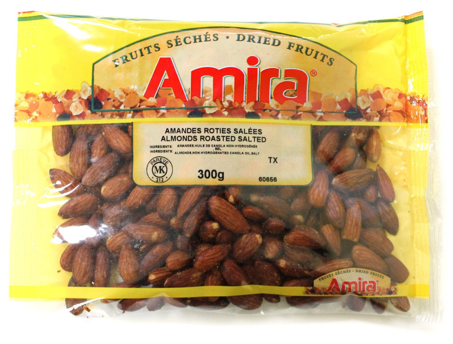 AMIRA SMOKED ALMONDS 300 G