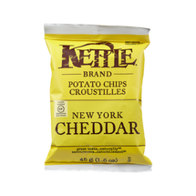 KETTLE POTATO CHIPS INDIVIDUAL PORTIONS - NEW YORK CHEDDAR CHIPS - 24X45G