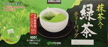 KIRKLAND SIGNATURE JAPANESE GREEN TEA, 100 BAGS
