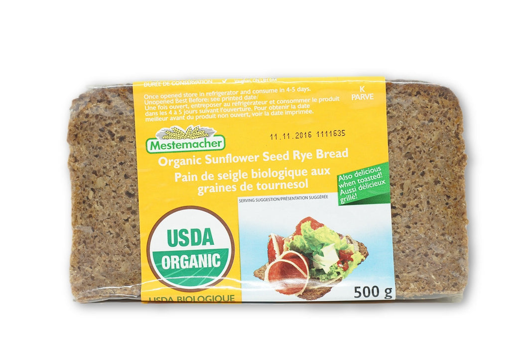 MESTEMACHER SUNFLOWER BREAD BIO 500 G