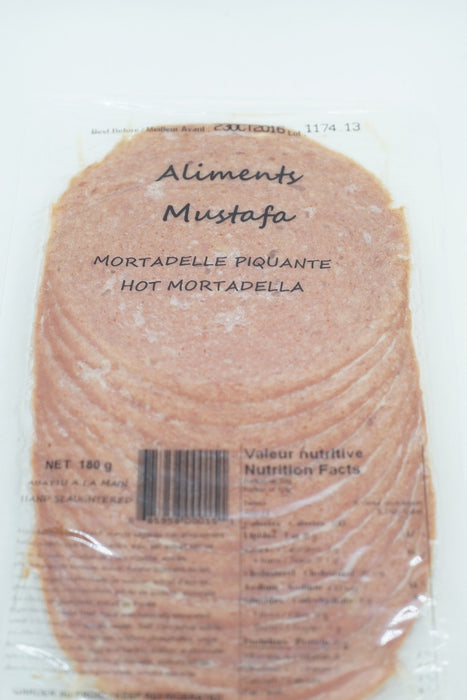 MUSTAFA MORTADELLA HOT 180 G