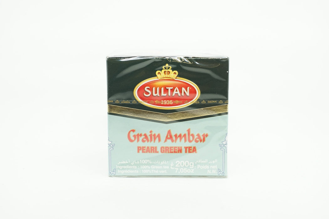 SULTAN GRAIN AMBAR GREEN TEA GRAIN #16 200 G