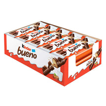 KINDER BUENO CHOCOLATE BARS, 20 × 43G