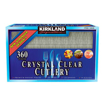 KIRKLAND SIGNATURE PLASTIC CUTLERY COMBO, PACK OF 360