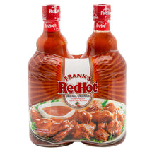 FRANKS REDHOT SAUCE CAYENNE PEPPER ORIGINAL 2 X 740ML