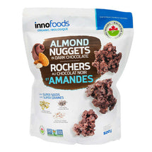 INNO FOODS CHOCOLATE ALMOND NUGGETS, 500G
