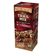 NATURE VALLEY CHEWY TRAIL MIX GRANOLA BARS, VARIETY PACK 36 X 35G
