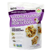 INNO FOODS COCONUT CLUSTERS, 500G
