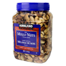 KIRKLAND SIGNATURE SALTED WHOLE MIXED NUTS, 1.13KG